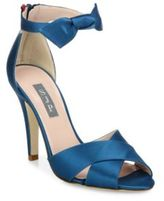 Sarah Jessica Parker Buckingham Bow High Heeled Sandals
