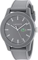 Lacoste Men's 2010767 Lacoste.12.12 Analog Display Quartz Grey Watch