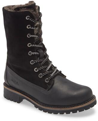Bos. & Co. Hazel Wool Lined Waterproof Lace-Up Boot