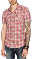 Buffalo David Bitton Soulmano Short Sleeve Casual Button-Down Shirt