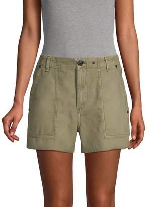 Rag & Bone Super High Rise Army Shorts