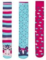 Harry Hall Superstar Pony Pack of 3 Socks
