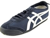 Onitsuka Tiger by Asics Mexico 66 Women Round Toe Canvas Blue Sneakers.