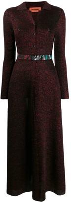 Missoni Glitter Knit Maxi Dress