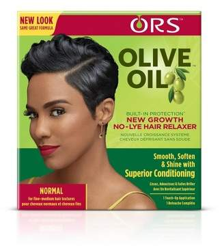 ORS Olive Oil New Growth Normal Hair Relaxer - 1 Kit