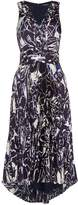 Lauren Ralph Lauren Ladyvyna sleeveless deep v dress