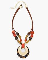 Chico's Daphne Short Pendant Necklace