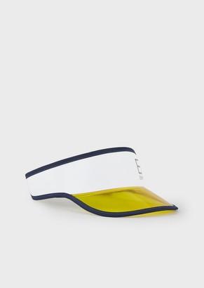 Emporio Armani Visor With Plexiglass Insert