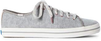 Keds Grey Kickstart Geo Jersey Low-Top Sneakers