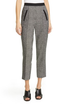 Tailored by Rebecca Taylor Mix Tweed Drawstring Pants