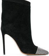 Alexandre Vauthier embellished mid-calf boots