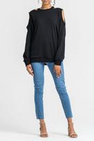 Lush Distressed Sweatshirt