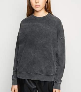 New Look Acid Wash Sweatshirt