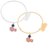 Disney Mickey Mouse Icon Flag Bangle by Alex and Ani