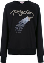 Olympia Le-Tan embellished sweatshirt - women - Cotton - S