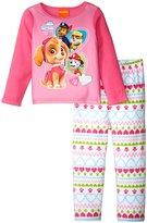 Nickelodeon Paw Patrol Fun Pup Pajama Set (Toddler) - Pink - 2T