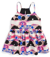 Milly Minis Girl's Modern Print Strappy Tank
