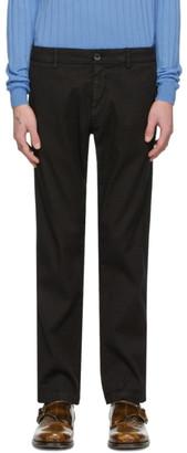Barena Black Linen Rubio Trousers