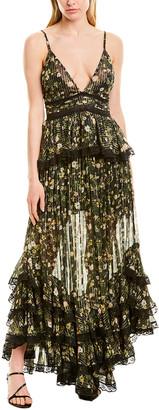 Rococo Sand Flora Maxi Dress