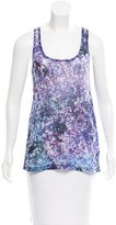 Prabal Gurung Floral Print Sleeveless Top