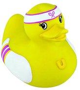 Rubber Duck Bud Mini Bath Tub Toy, Tennis