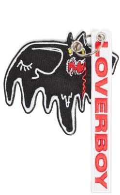 Charles Jeffrey Loverboy Mr. Sprinkles Embroidered Key Ring - Womens - Black Multi