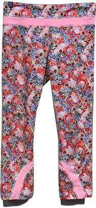Lululemon Pink Cloth Trousers