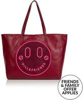 Hill & Friends Happy Slouchy Tote- Burgundy