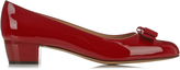 Salvatore Ferragamo Vara C patent-leather pumps