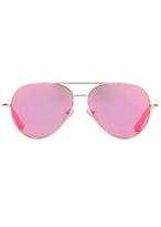Matthew Williamson Purple Aviator Sunglasses