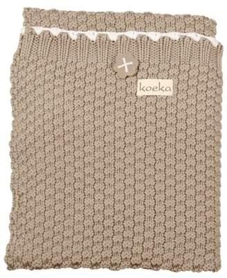 Koeka Valencia 1051/44-041260 Cot Blanket Stone