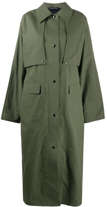 Kassl Editions Oversized Trench Coat