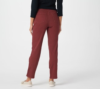 """Denim & Co. How Timeless"""" Tall 4-Pocket Pull-On Jeans"""
