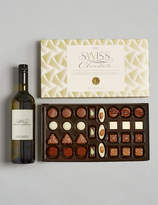 Marks and Spencer White Wine & Swiss Chocolates