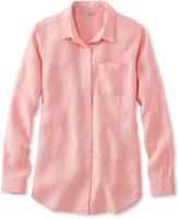 L.L. Bean Premium Washable Linen Shirt, Tunic