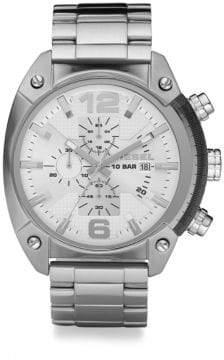 Diesel Stainless Steel Overflow Bracelet Watch