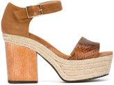 Castaner Flavia wedge sandals