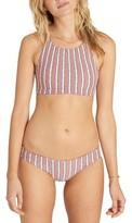 Billabong Women's Stripe Bikini Top