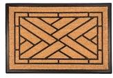 Diagonal Tiles Bootscraper Indoor/Outdoor Doormat