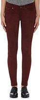 Rag & Bone Women's Suede Skinny Pants-PURPLE