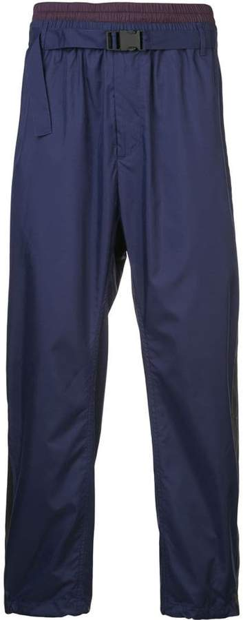 3.1 Phillip Lim Double-waistband track pants