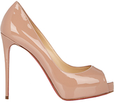 Christian Louboutin Women's New Very Prive Pumps-NUDE