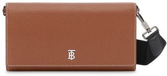 Burberry Logo Strap Wallet