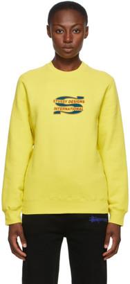 Stussy Yellow Steam Sweatshirt
