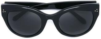 Linda Farrow Cat Eye Shaped Sunglasses