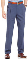 Daniel Cremieux Signature Classic-Fit Pleated Solid Heather Pants