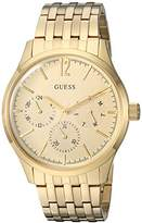 GUESS Men's Stainless Steel Casual Watch with Day