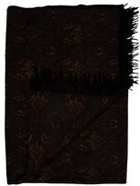 Loro Piana Floral Cashmere Throw Blanket