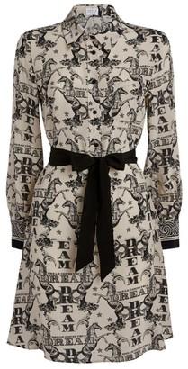 Claudie Pierlot Silk Printed Dress