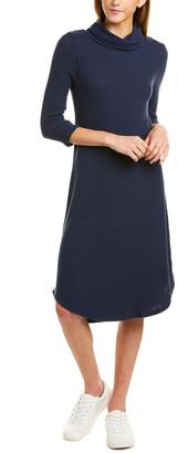 Three Dots Funnel T-Shirt Dress